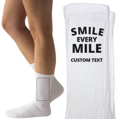 Smile Every Mile Custom Runner