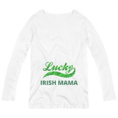 Lucky Irish Mama Maternity Top