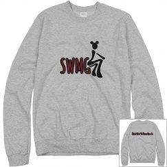 SWMG Logo crewneck sweatshirt front/back