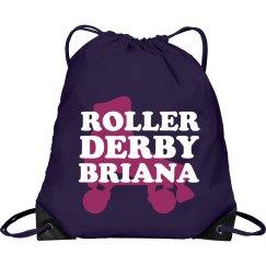Roller Derby Name Bag