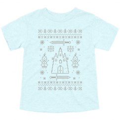 I Like Warm Hugs Cutest Toddler Ugly Sweater Tee