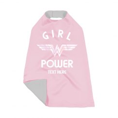 Girl Power Toddler Cape