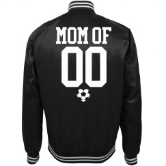 Trendy Soccer Mom Bomber jacket With Custom Number