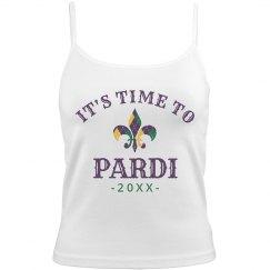 Custom Year Time To Pardi