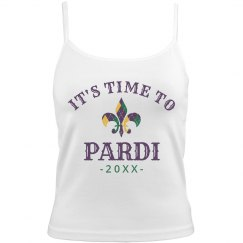 Custom Year Time To Pardi