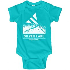 Infant onsie SILVER LAKE