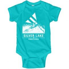 Infant onsie SILVER LAKE