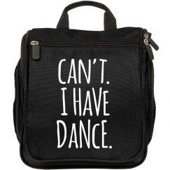 Dance Girl Makeup Bag