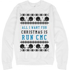 All I Want for Christmas is Run CMC Ugly Sweater