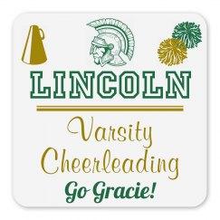 Lincoln Varsity Cheerleading Magnet_Item30C-7