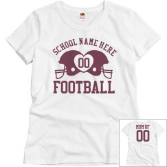 Cute Budget Priced Custom Football Mom Shirts