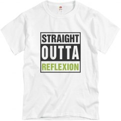 White Adult Straight Outta Reflexion Tee