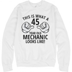 45 year old Mechanic