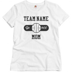 Custom Basketball Mom w/Players Number
