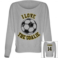 I love the goalie!