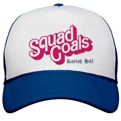 Squad Goals SnapBack Hat