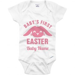 Baby's First Easter Custom Name
