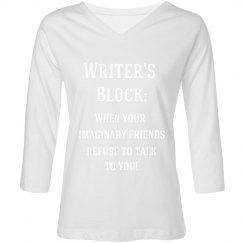 Writer's Block Tee