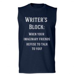 Writer's Block Men's Tee
