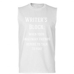 Writer's Block Men's Tee