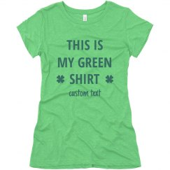 This is My Green Shirt St. Patrick's