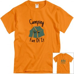 Men's Camping For The Fun Of It