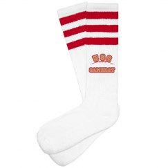 USC Gameday Socks