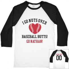 Nuts for Baseball Butts