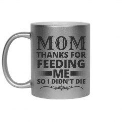 Metallic Funny Mom Mug