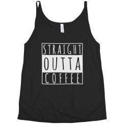 Straight Outta Coffee Plus Tank