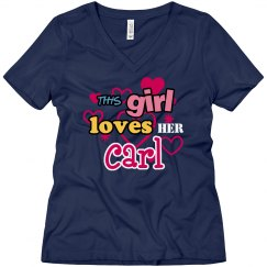 This girl loves Carl!