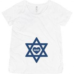 Custom Name Hanukkah Star