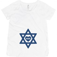 Custom Name Hanukkah Star