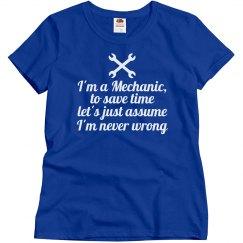 I'm a Mechanic