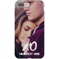 Custom XO Couple Phone Case