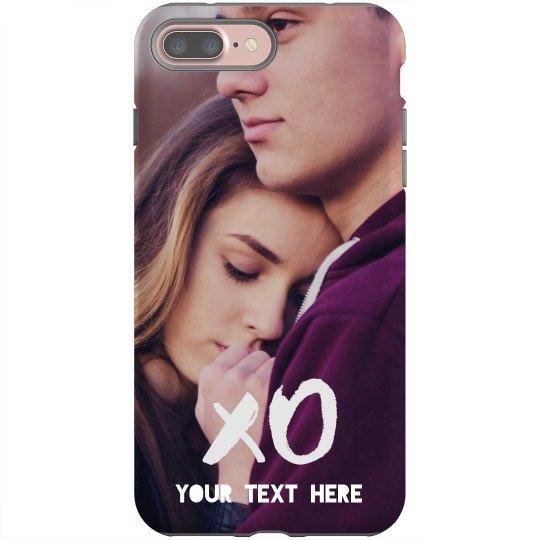 buy online e1b77 26d57 Custom XO Couple Phone Case