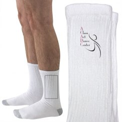Adult Unisex Crew Socks