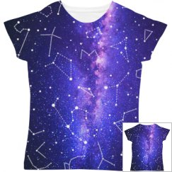 Galaxy Constellation Women's Tee