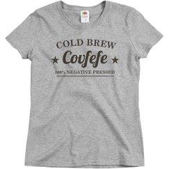Funny Trump Cold Brew Covfefe