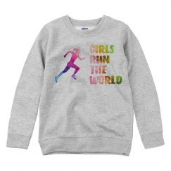 Girls Run The World - Crewneck