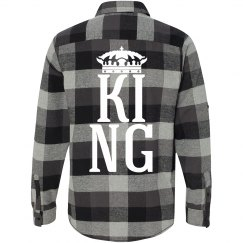 Matching King Queen Flannel Guy