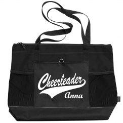 Cute Cheerleader Custom Name