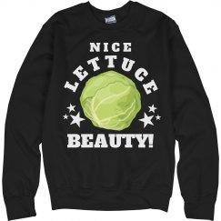 Nice Lettuce Beauty Hockey Girl