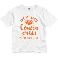 Custom Family Turkey Cousin Crew