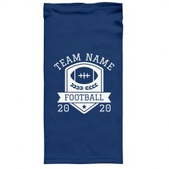Custom Football Team Name Gaiter
