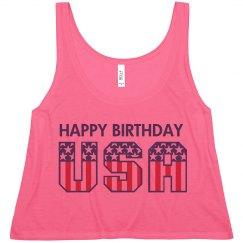 Happy Bday USA