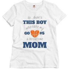 Basketball Mom's Heart