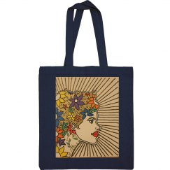Latina Tote Bag-Jazzy Art