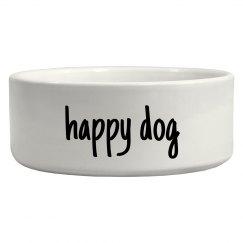 Happy Dog Simple Pet Bowl