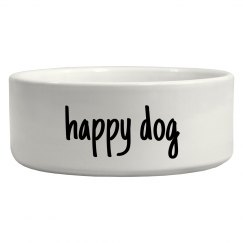 Happy Dog Simple Pet Bowl